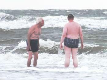 Badespaß für Jung und Alt und Hartgesottene